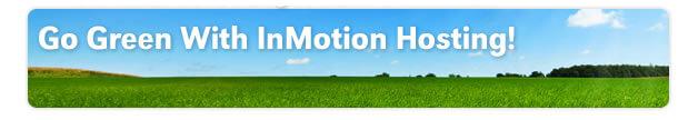 inmotion hosting green