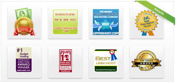 webhostingpad awards