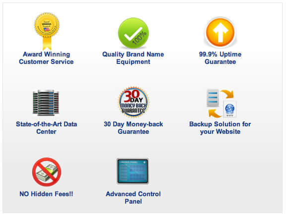 webhostingpad features