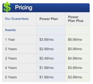 webhostingpad pricing