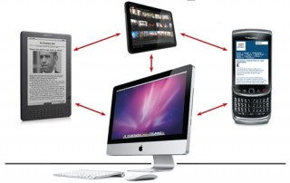 Ubiquitous Computing: Access to the cloud is not restricted to a particular device.