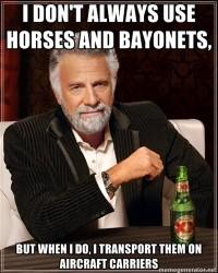 Horses and Bayonets