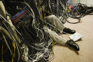 Cables everywhere