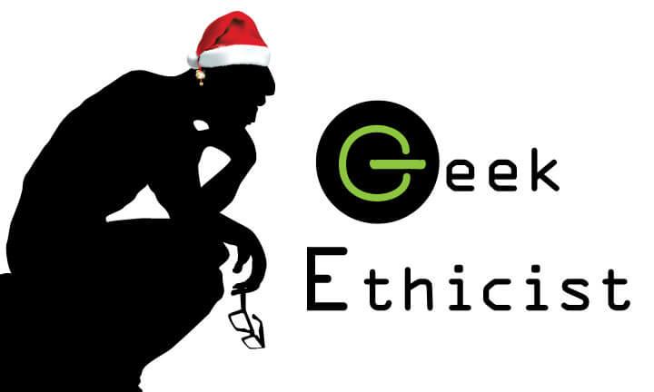 Geek Ethicist Santa