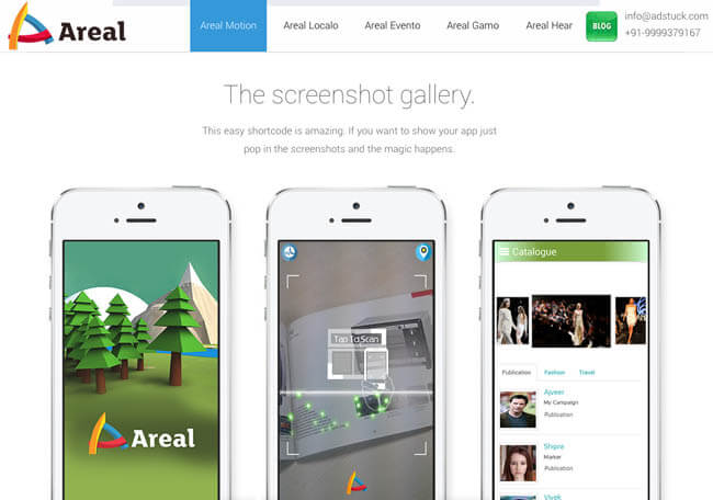 areal.screen