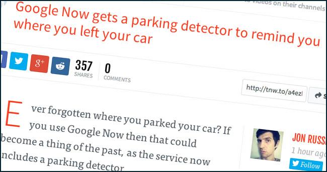 google.parking