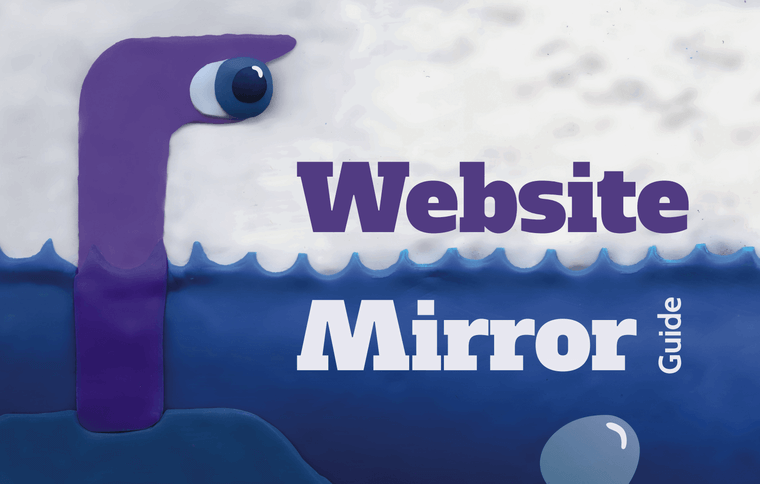 Website Morror Guide: Learn How to Create Mirror Systems for Various Software.