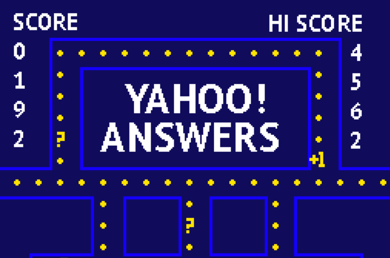 Yahoo Answers for SEO.