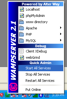 How to Install WAMP Server on Windows XP or Windows