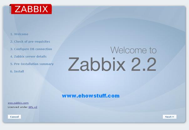 setup zabbix-1