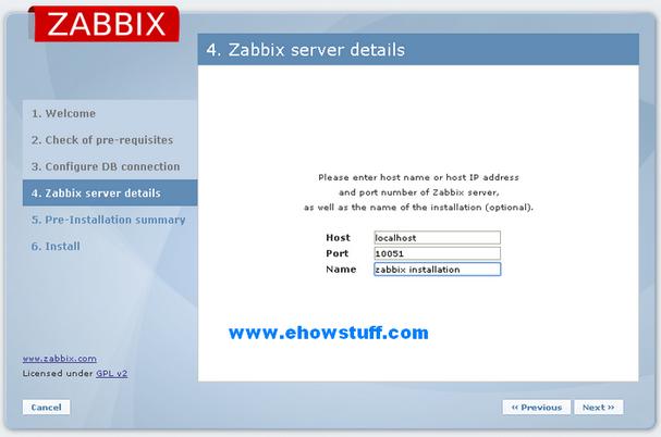 setup zabbix-4
