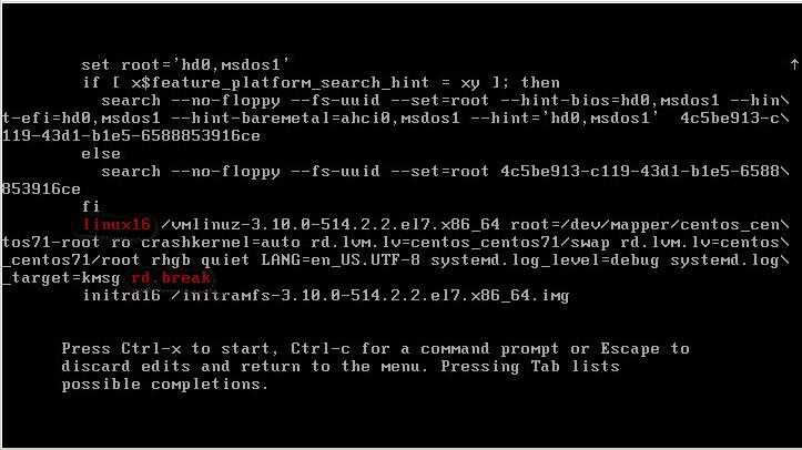 recover Forgotten Root Password