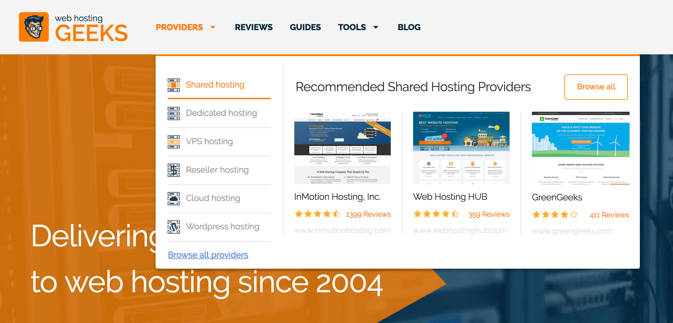 Recommended Hosting Companies